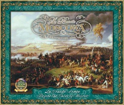 La copertina del gioco Bataille de la Moscowa