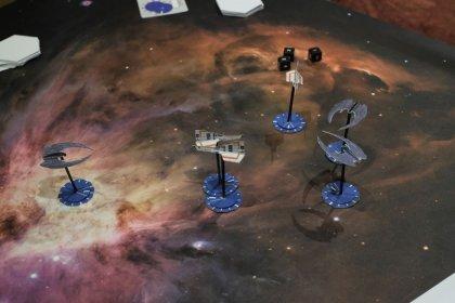 Battlestar Galactica Starship Battles playtest