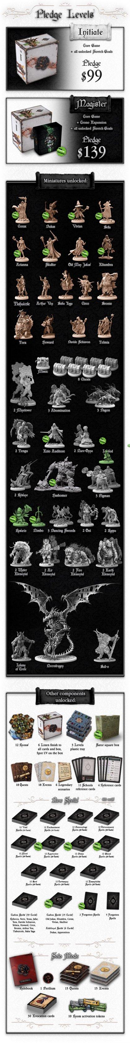 Black Rose Wars: miniature