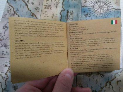 Chartae: regole
