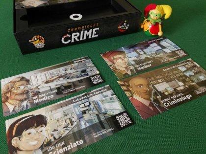 Chronicles of Crime: personaggi