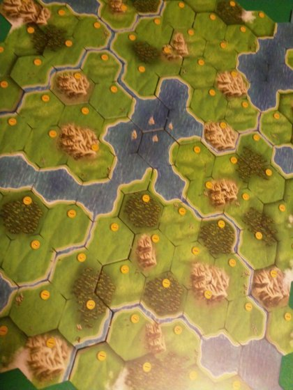 Clans of Caledonia: tabellone