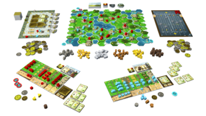 Clans of Caledonia: materiali
