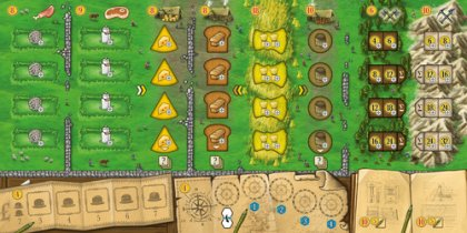 Clans of Caledonia: plancia giocatore