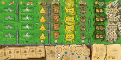Clans of Caledonia: plancia giocatore