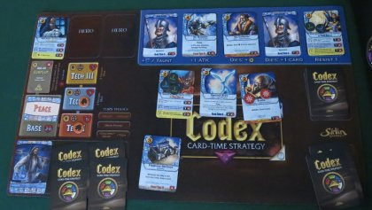 Codex game status