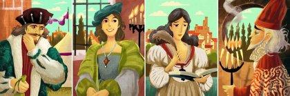 Coimbra personaggi