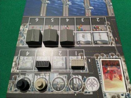 Container: plancia giocatore