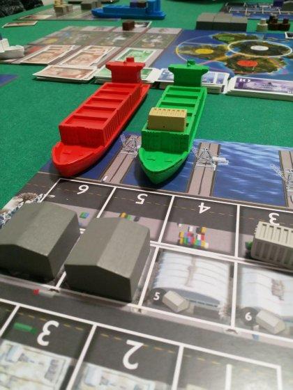 Container: in porto