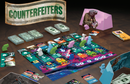 Counterfeiters: materiali