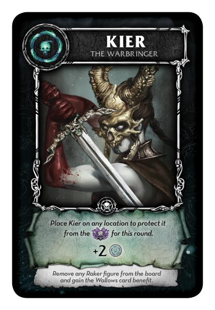 Court of the Dead: carta