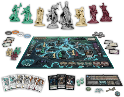 Court of the Dead: materiali