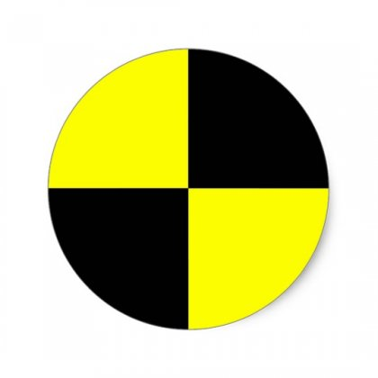 crash test symbol