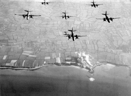Pointe du Hoc - i bombardamenti pre-sbarco