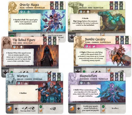 Crystal Clans: carte