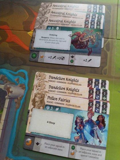 Crystal Clans: Flower vs Skull Clan