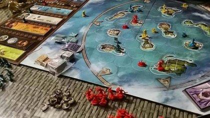 Plancia di gioco di Cyclades