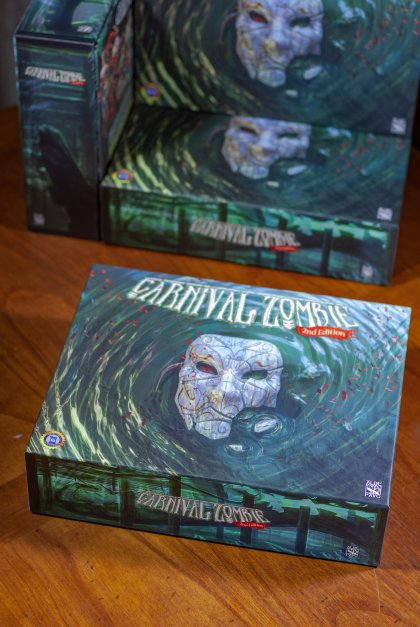Carnival Zombie 2: scatola