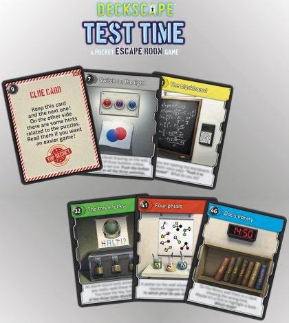 Deckscape - Carte enigma