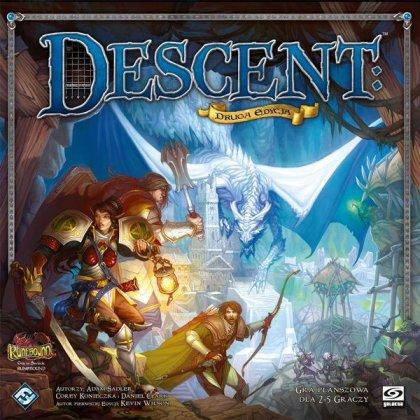 Descent 2: copertina