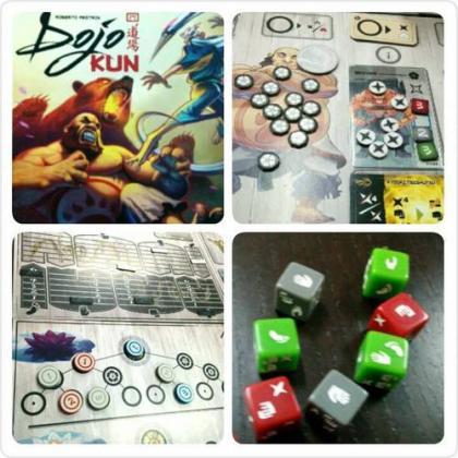 Dojo Kun: elementi del gioco da tavolo