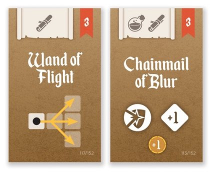Dungeon Hustle: carte Oggetto