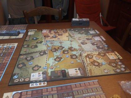 Mappa a inizio partita