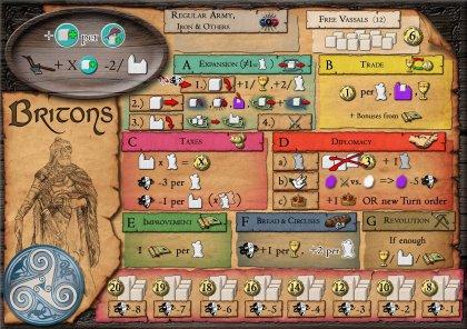 Era of Tribes: plancia civiltà