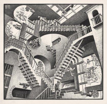 Escher: Relativity