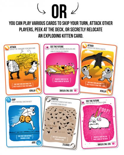 Exploding Kitten: carte