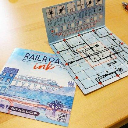 Railroad Ink scatola blu