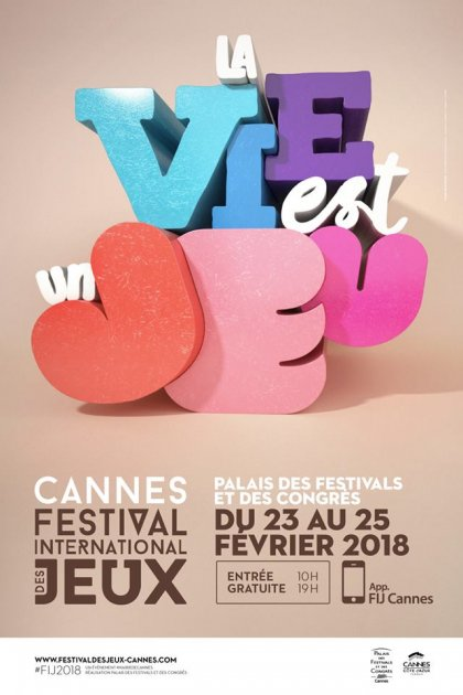 Festival International des Jeux di Cannes 2018