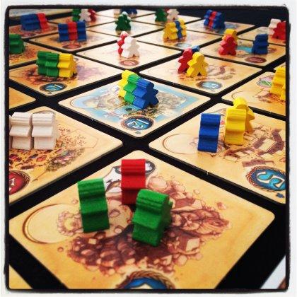 Five Tribes: setup di inizio gioco