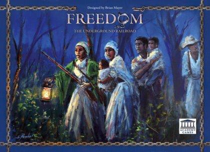 Copertina della scatola del gioco Freedom: The Undergroung Railroad