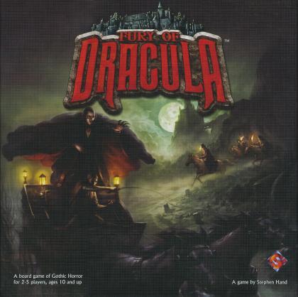 La furia di Dracula: copertina