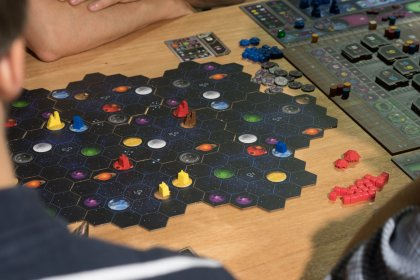 Gaia Project: Partita prototipo