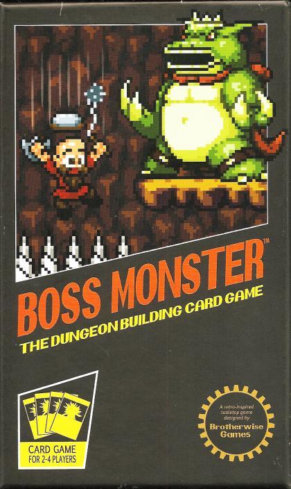Boss monster the dungeon building card game gioco da tavolo gdt tana dei goblin - Dungeon gioco da tavolo ...