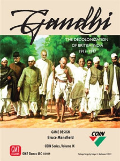 Gandhi: The Decolonization of British India, 1917 – 1947 - Copertina