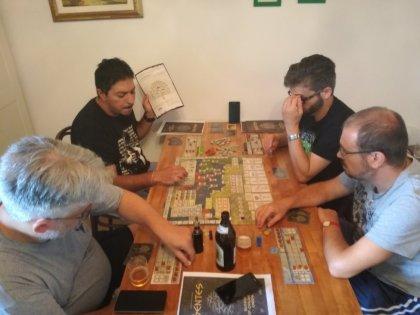 Gentes: una concitata partita