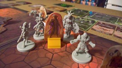 gloomhaven: capitano delle guardie e personaggi