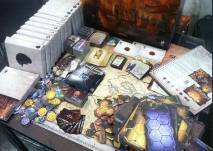 gloomhaven contenuto della scatola