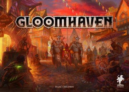 Copertina di Gloomhaven, gioco coperativo