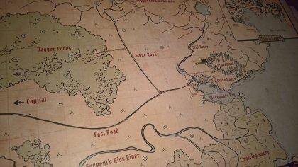 gloomhaven: mappa