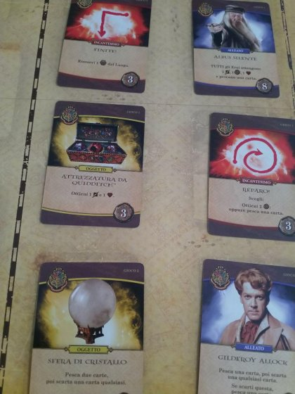Harry Potter Hogwarts Battle: carte