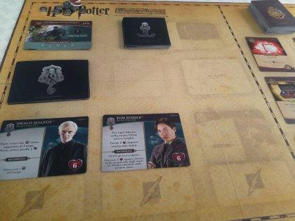 Harry Potter Hogwarts Battle: tabellone