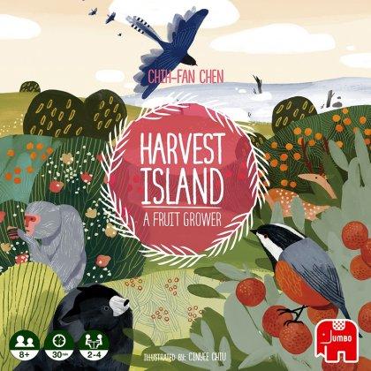 Harvest Island copertina