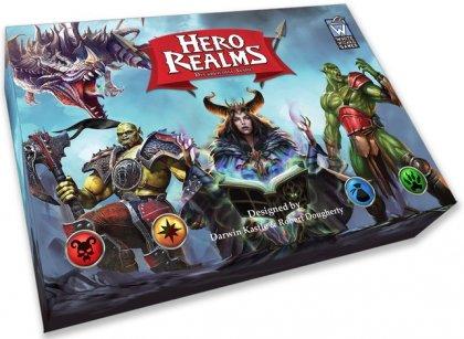 Scatola di Hero Realms, un deckbuilding