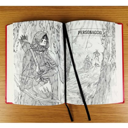 Hero interno con illustrazioni