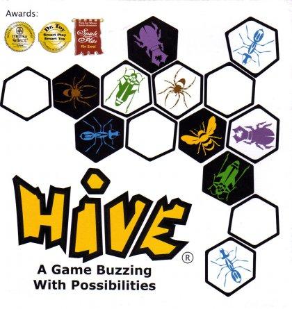 La copertina di Hive, un gioco per due giocatori