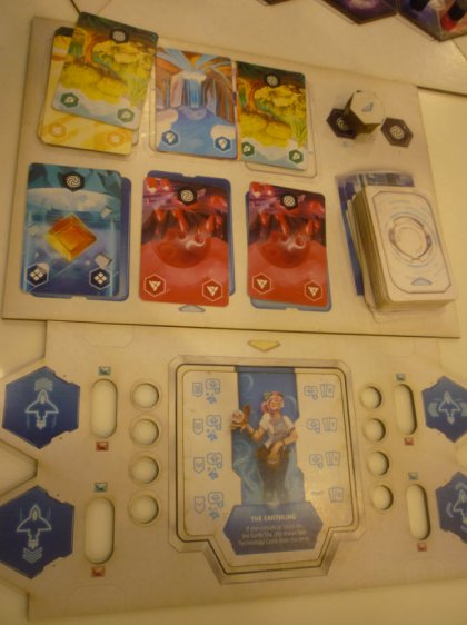 HOPE: plancia giocatore e carte azione
